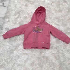 Other - Hooded pink sweatshirt
